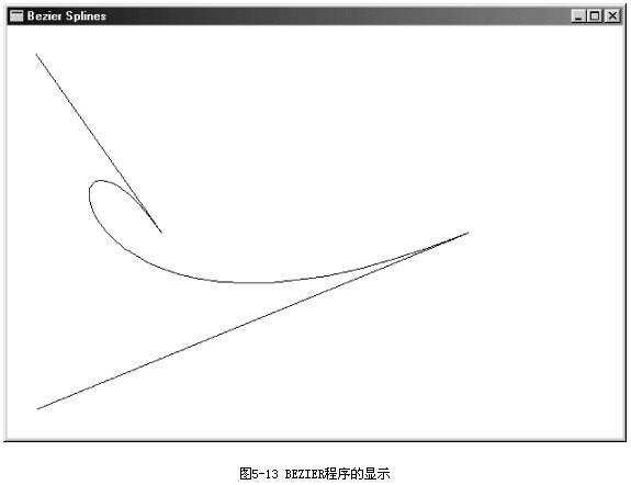 三,windows图像处理—画点和线(贝塞尔曲线)