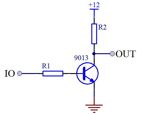图 3-8 三极管实现电压转换