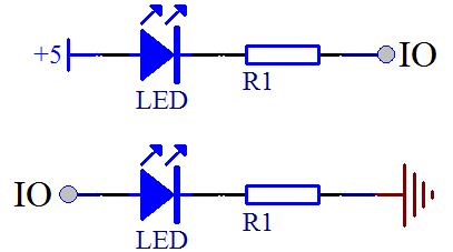 三极管驱动led灯电路