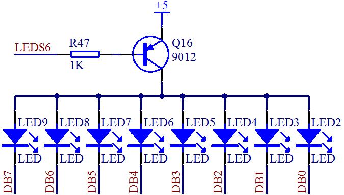 单片机led流水灯程序[详细]
