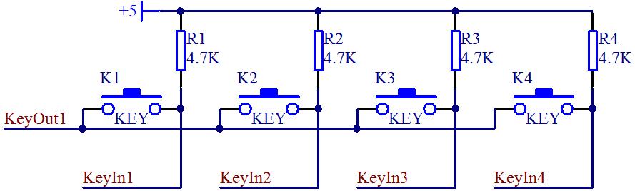 单片机按键(独立按键和矩阵按键)