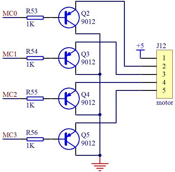 图9-6 步进电机控制电路