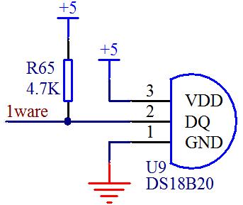 温度传感器ds18b20