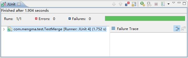 JUnit控制台信息